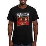 MONSTER eat CLOWNS Men's Fitted T-Shirt (dark)