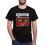 MONSTER eat CLOWNS Dark T-Shirt