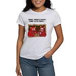MONSTER eat CLOWNS Women's T-Shirt