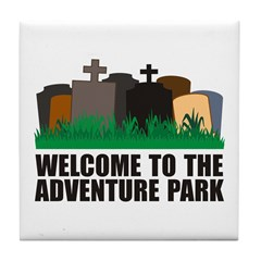 Adventure Park Tile Coaster