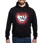 Gothic Heart 50th Hoodie (dark)