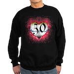Gothic Heart 50th Sweatshirt (dark)