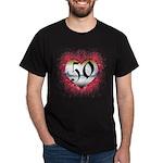 Gothic Heart 50th Dark T-Shirt