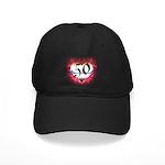Gothic Heart 50th Black Cap