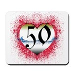 Gothic Heart 50th Mousepad
