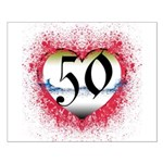 Gothic Heart 50th Small Poster