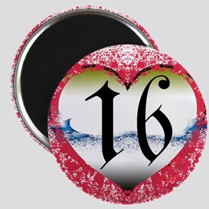 Gothic Heart 16th Magnet