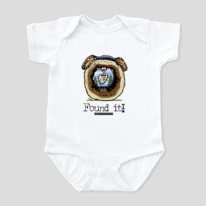 Found It! Geocaching Infant Bodysuit
