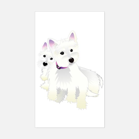 Bacchus & Beignet Rectangle Decal
