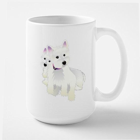 Bacchus & Beignet Large Mug