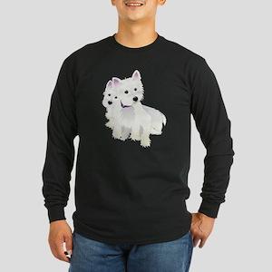 Bacchus & Beignet Long Sleeve Dark T-Shirt