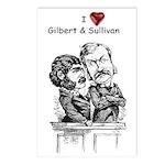 Love G&S postcards (8-pack)