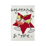 Cocktail Time Rectangle Magnet (100 pack)