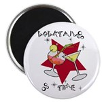 """Cocktail Time 2.25"""" Magnet (100 pack)"""