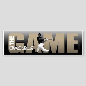 The Game... Bumper Sticker