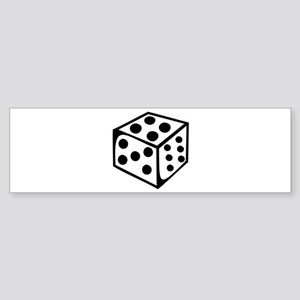 Dice - Four Bumper Sticker
