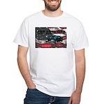 White T-Shirt FUNFASHIONETC