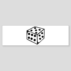 Dice - Five Bumper Sticker