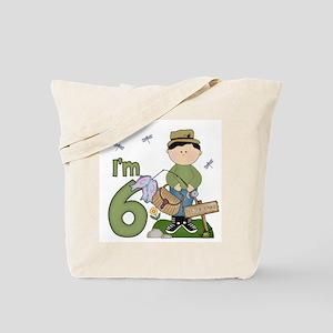Lil Fisherman 6th Birthday Tote Bag