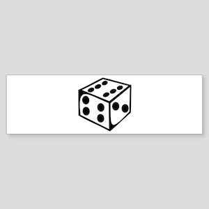 Dice - Six Bumper Sticker