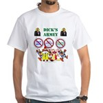Dick's Armey White T-Shirt