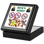 Dick's Armey Keepsake Box