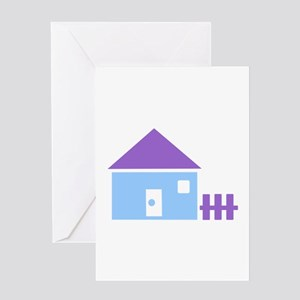 House - Real Estate Greeting Card