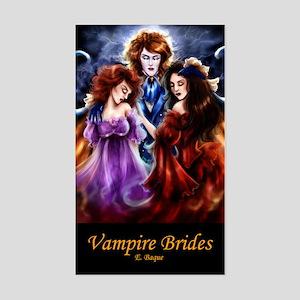 Vampire Brides Rectangle Sticker