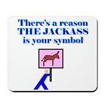 Jackass Symbol Mousepad