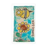 Bumblebee Sticker (Rectangle)