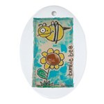Bumblebee Ornament (Oval)