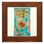 Bumblebee Framed Tile