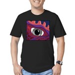 CREATURE VIEW #4 Men's Fitted T-Shirt (dark)