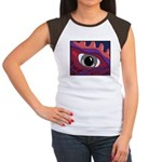 CREATURE VIEW #4 Women's Cap Sleeve T-Shirt