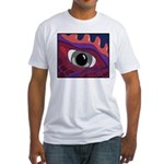 CREATURE VIEW #4 Fitted T-Shirt