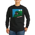 CREATURE VIEW #3 Long Sleeve Dark T-Shirt