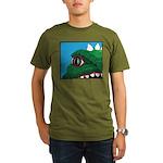 CREATURE VIEW #3 Organic Men's T-Shirt (dark)