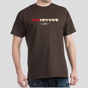 life bar Dark T-Shirt