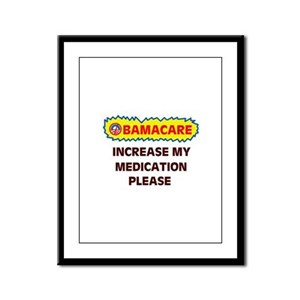 I CAN'T STAND THE PAIN Framed Panel Print