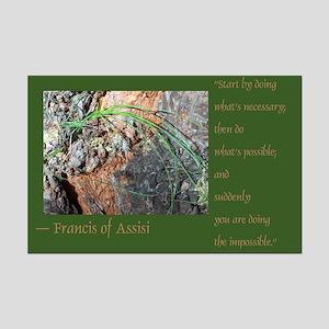 Impossible Francis Mini Poster Print