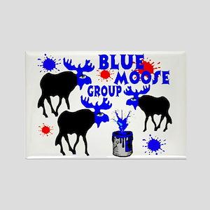 Blue Moose Group Rectangle Magnet