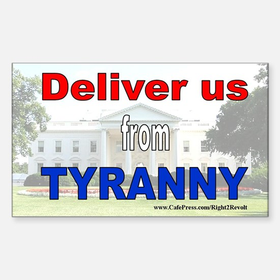 Deliver us (sticker)