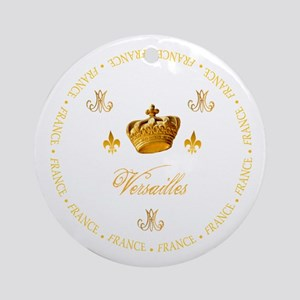"""Versailles-France 1"" Ornament (Round)"