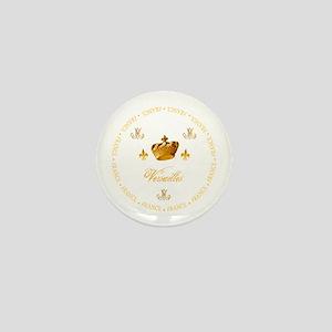"""""""Versailles-France 1"""" Mini Button"""