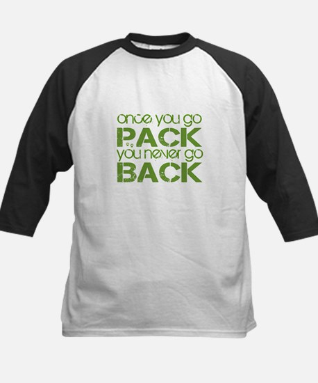 Once you go Pack ... Kids Baseball Jersey