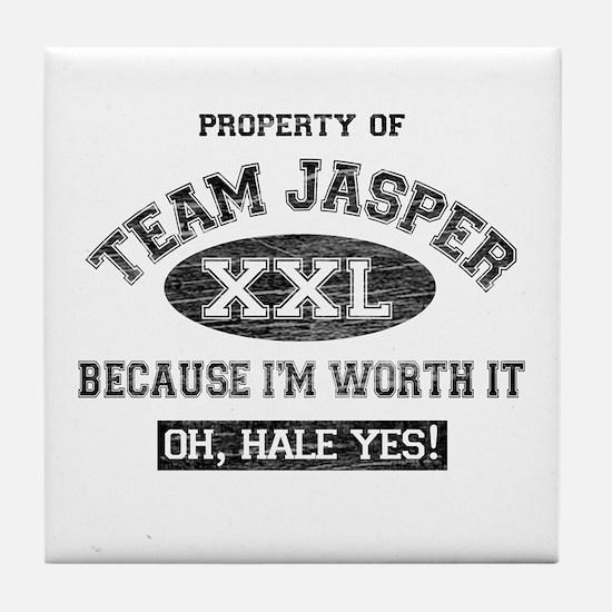 Property of Team Jasper Tile Coaster
