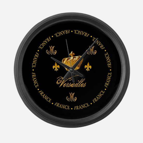 """Versailles-France 1"" Large Wall Clock"