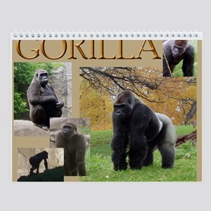 Gorilla Two Wall Calendar