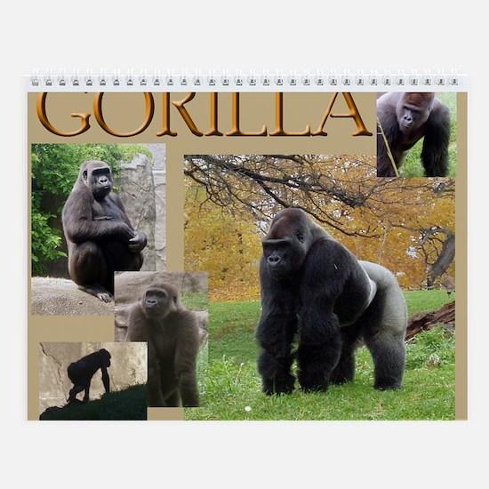 Gorilla Two Wall Calendar