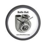 Balls Out - Turbocharger Wall Clock by BoostGear